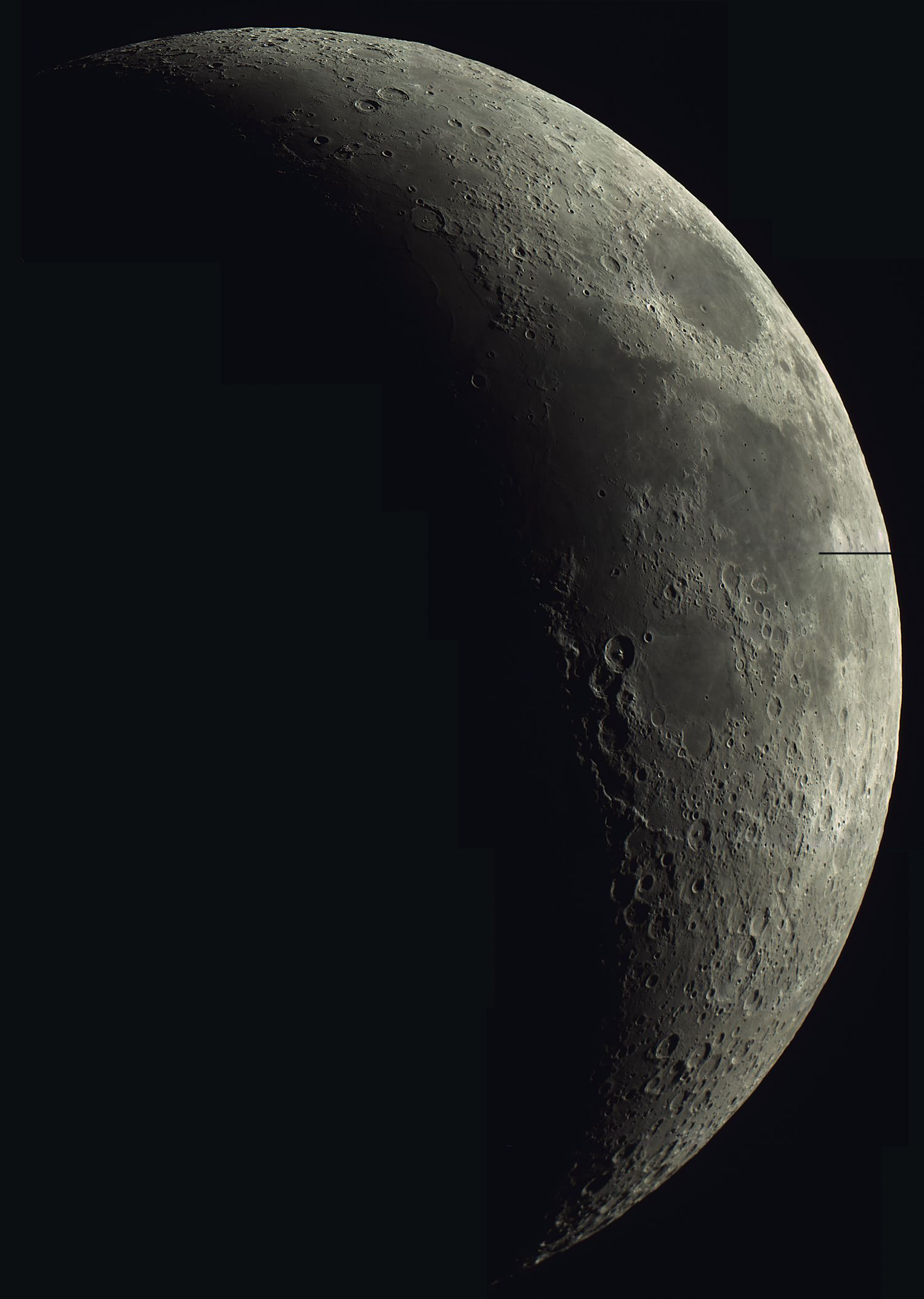 CCD Image Mosaic of the Moon