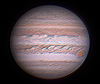 CCD Image of Jupiter at 2017 Opposition
