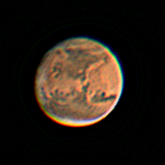 CCD Image of Mars at 2016 Opposition