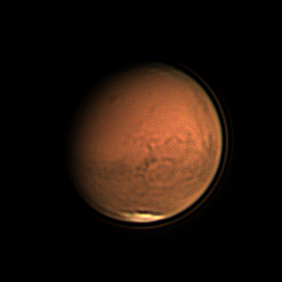 CCD Images of Mars at 2018 Opposition