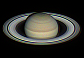 CCD Images of Saturn at 2019 Opposition